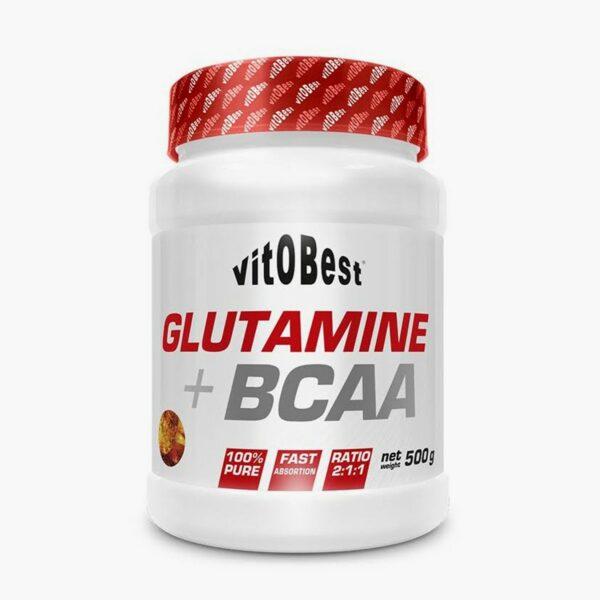 GLUTAMINE + BCAA COMPLEX - 500 g