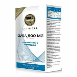 GABA 500 mg - 30 caps.