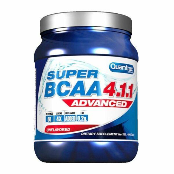 SUPER BCAA 4.1.1 ADVANCED - 400 tabs.