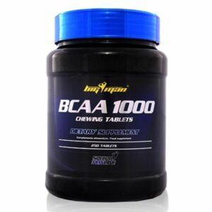 BCAA 1000 - 250 tabs. Masticables