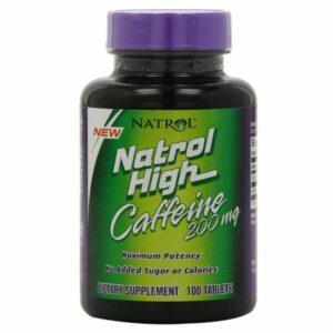 High Caffeine 200 mg - 100 tabs.