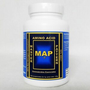 MAP - Master Amino Acid Pattern - 120 tabs.