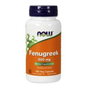 Fenugreek 500 mg - 100 caps.