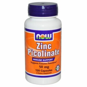 Zinc Picolinate 50 mg - 120 caps.