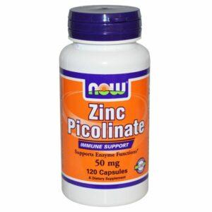 Zinc Picolinate 50 mg - 120 caps.