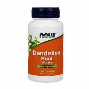 Dandelion root - Diente de león 500 mg - 100 caps.