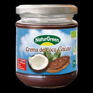 Crema de Coco Cacao - 200 gr.