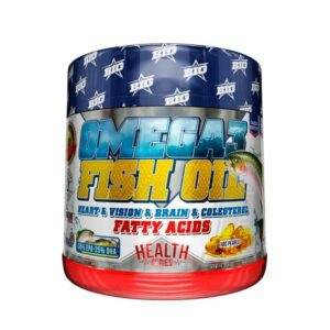 BIG - OMEGA 3 FISH OIL - 100 softgels