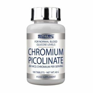 CHROMIUM PICOLINATE - 100 tabs.
