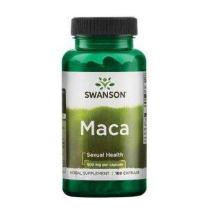 Swanson Maca 500 mg. - 100 caps.