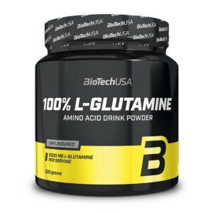 100% L-Glutamine - 500 gr.