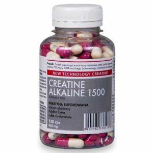 CREATINE ALKALINE 1500 - 120 caps.