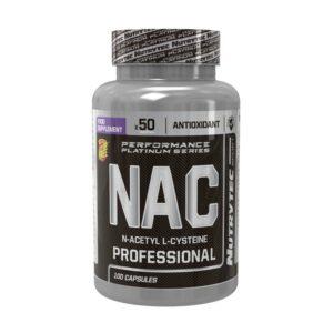 NAC - N-Acetil L-Cisteína - 100 caps.