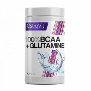 OSTROVIT 100% BCAA + GLUTAMINE 500 g