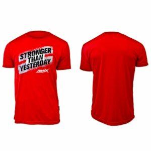 Camiseta hombre - Stronger roja