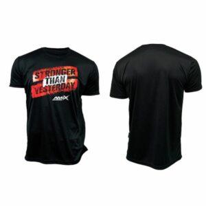 Camiseta hombre - Stronger negra