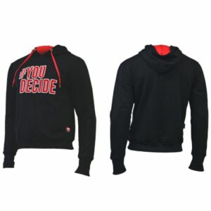 Sudadera YOU DECIDE - color negro
