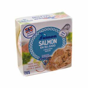 Dumon Salmón en su jugo - 170 g
