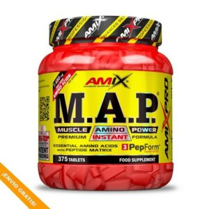 M.A.P.® MUSCLE AMINO POWER - 375 tabs.
