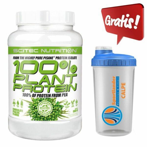 100% Plant protein- 900 g