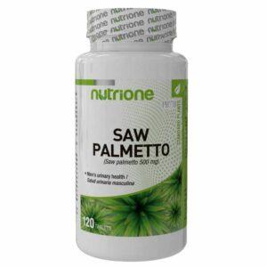 NUTRIONE SAW PALMETTO - 120 tabs.