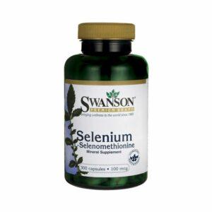 Swanson Selenium (L-Seleniometionina) - 300 caps.