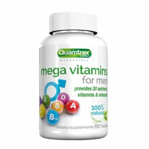 Quamtrax Essentials Mega Vitamins for men - 60 tabs.