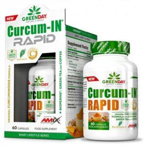 GreenDay® Curcum-IN® Rapid - 60 caps.