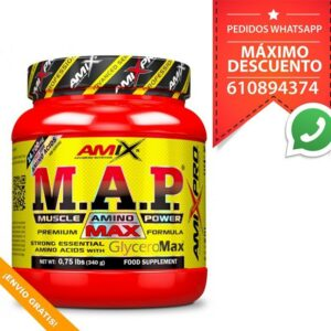 M.A.P.® MUSCLE AMINO POWER WITH GLYCEROL® - 340 g
