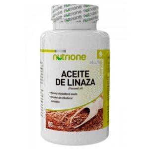 NUTRIONE - ACEITE DE LINAZA - 90 soft.