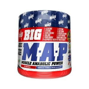 BIG MAP MUSCLE ANABOLIC POWER - 250 tabs.