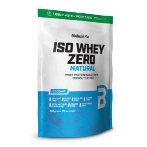BiotechUSA ISO WHEY ZERO NATURAL - 500 g
