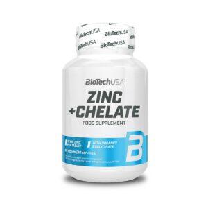 BiotechUSA Zinc Chelate - 60 tabs.