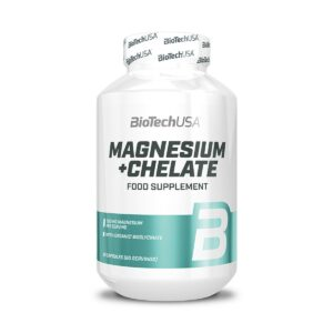 BiotechUSA Magnesium + Chelate - 60 caps.
