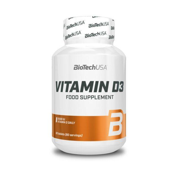 BiotechUSA Vitamin D3 - 60 tabs.